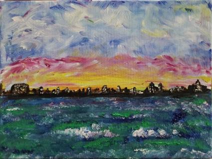 12x9 oil on canvas